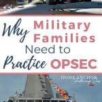 Pinterest Pin for Why Military Families Need to Practice OPSEC