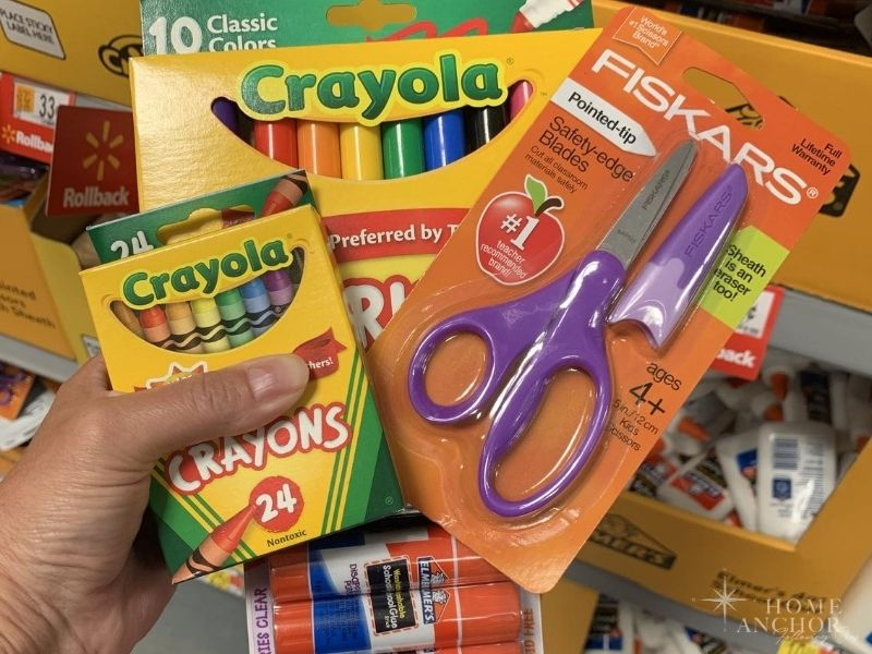 Buy your kids school supplies during your state's back to school tax free weekend